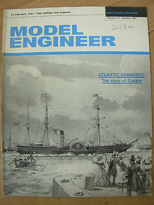 THE MODEL ENGINEER VINTAGE MAGAZINE FEBRUARY 15th 1965