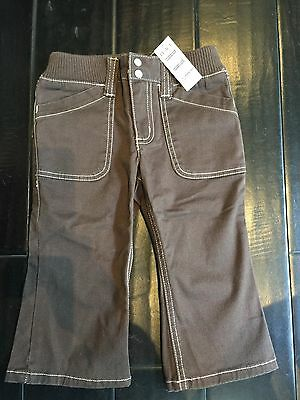 NWT The childrens place girls brown Capri pants size 4/ 6-7