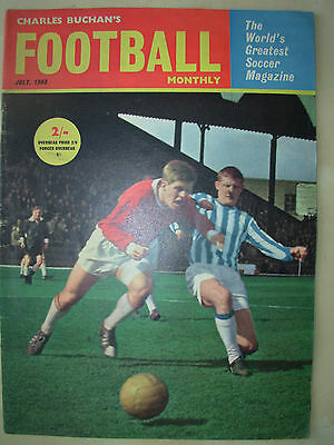 Football Monthly Magazine July 1963 Sheffield Wednesday - Celtic - Norwich