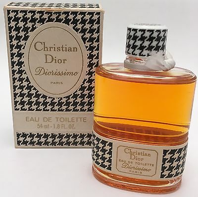 Vintage New Christian Dior DIORISSIMO Paris Eau Toilette Splash EDT 54ml 1.8oz