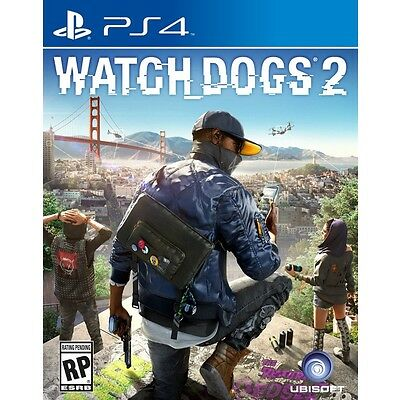 Watch Dogs 2 (Sony Playstation 4, PS4) - COMPLETE