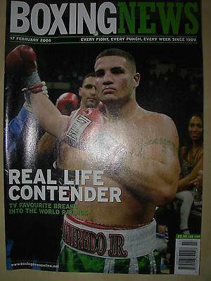 Boxing News 17 February 2006 Peter Manfredo Defeats Scott Pemberton