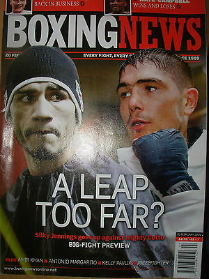 BOXING NEWS 20 FEBRUARY 2009 MIGUEL COTTO v MICHAEL JENNINGS FIGHT PREVIEW