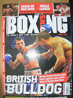 Boxing News 6 October 2011 Sergio Martinez Defeats Darren Barker