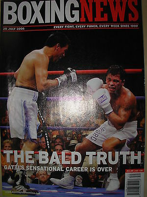 Boxing News 28 July 2006 Carlos Baldomir Defeats Arturo Gatti