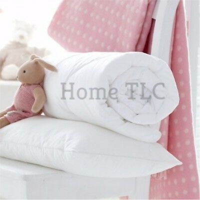 Baby Junior Toddler Anti Allergy Cot Bed Duvet/Quilt, Pillow, Quilt Pillow Set