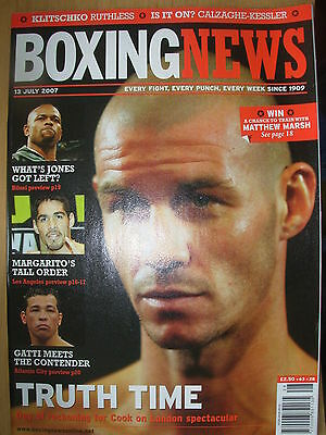 BOXING NEWS 13 JULY 2007 NICKY COOK v STEVE LUEVANO FIGHT PREVIEW