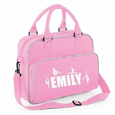 Personalised Gymnastic Bag Shoulder School Club Gym Outdoor Unisex Dance - Ff145