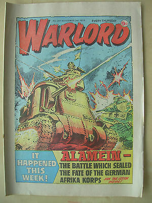 VINTAGE COMIC - WARLORD - No 267 - NOVEMBER 3rd 1979