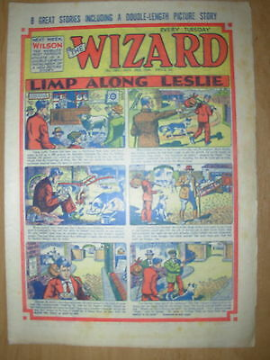VINTAGE BOYS COMIC THE WIZARD No 1501 NOVEMBER 20th 1954