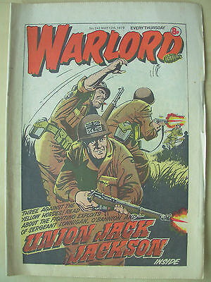 VINTAGE COMIC - WARLORD - No 242 - MAY 12th 1979
