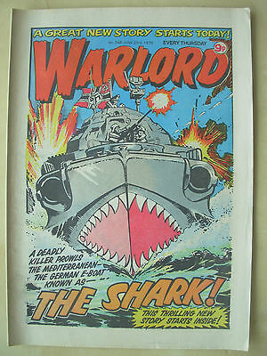 VINTAGE COMIC - WARLORD - No 248 - JUNE 23rd 1979