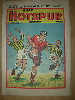 VINTAGE BOYS COMIC THE HOTSPUR No 1037 SEPTEMBER 22nd 1956