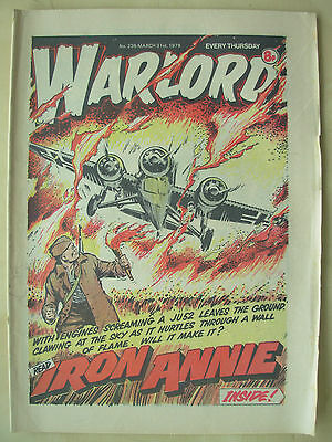 VINTAGE COMIC - WARLORD - No 236 - MARCH 31st 1979