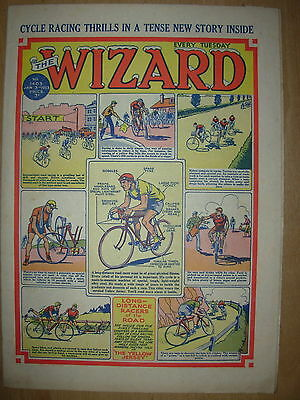 VINTAGE BOYS COMIC THE WIZARD No 1403 JANUARY 3rd 1953