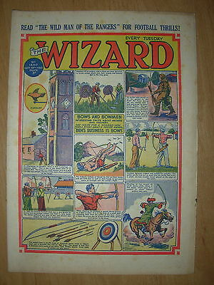 VINTAGE BOYS COMIC THE WIZARD No 1440 SEPTEMBER 19th 1953
