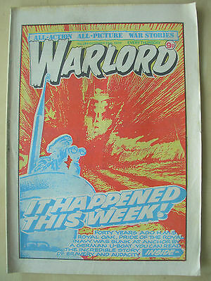 VINTAGE COMIC - WARLORD - No 264 - OCTOBER 13th 1979