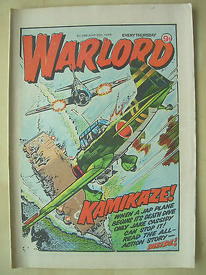 VINTAGE COMIC - WARLORD - No 249 - JUNE 30th 1979