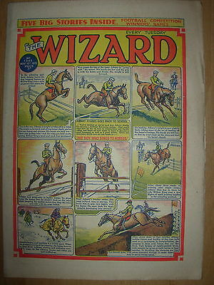 VINTAGE BOYS COMIC THE WIZARD No 1343 NOVEMBER 10th 1951