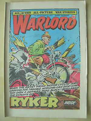 VINTAGE COMIC - WARLORD - No 263 - OCTOBER 6th 1979