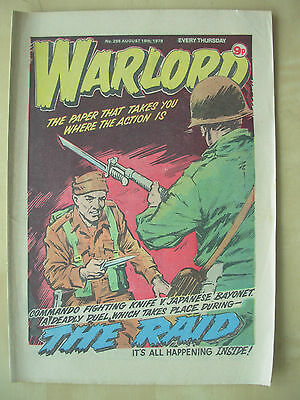 VINTAGE COMIC - WARLORD - No 256 - AUGUST 18th 1979