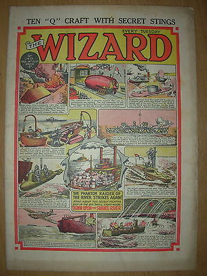 VINTAGE BOYS COMIC THE WIZARD No 1415 MARCH 28th 1953