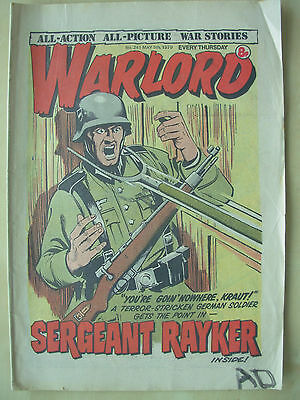 VINTAGE COMIC - WARLORD - No 241 - MAY 5th 1979