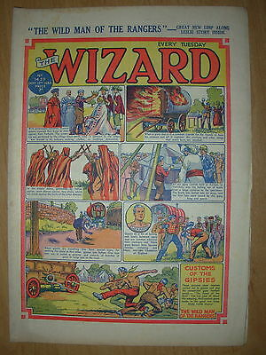 VINTAGE BOYS COMIC THE WIZARD No 1439 SEPTEMBER 12th 1953