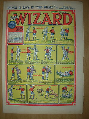 VINTAGE BOYS COMIC THE WIZARD No 1422 MAY 16th 1953