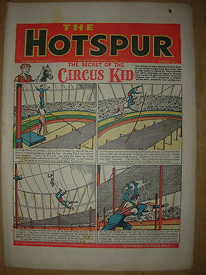 VINTAGE BOYS COMIC THE HOTSPUR No 826 SEPTEMBER 6th 1952