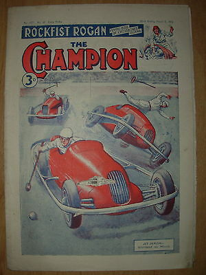 VINTAGE BOYS COMIC THE CHAMPION No 1571 MARCH 8th 1952