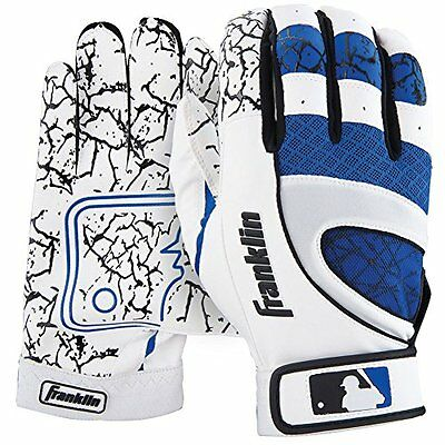 Franklin Adult Insanity Series Batting Gloves Pearl Royal Pairs