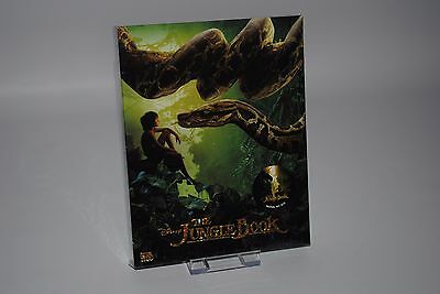 The Jungle Book (2016) 3D + 2D Blu-ray Steelbook Fullslip A (Novamedia NC011)