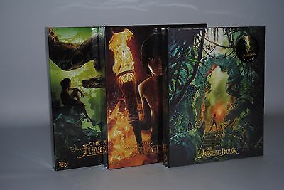 The Jungle Book (2016) 3D + 2D Blu-ray Steelbook One Click (Novamedia NC011)