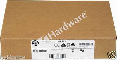 New Sealed Allen Bradley 1784-U2DHP /A Pkg 2016 USB-to-DH+ Adapter Cable 2.44 m