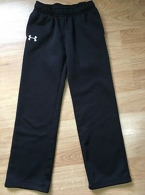 Under Armour Storm Pants Youth Medium Loose Black