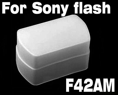 Flash Bounce Diffuser cap box Softbox for Sony HVL-F42AM HVL-F43AM