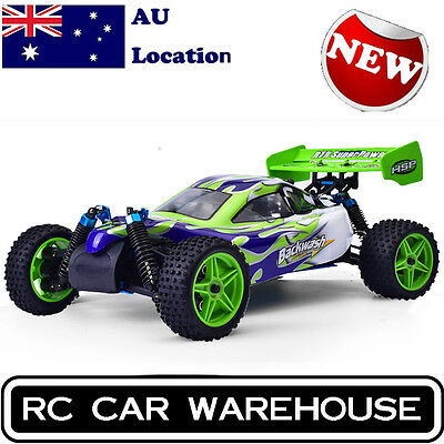 HSP 1/10 Scale Nitro Gas Power 4wd Rc Car Toy Two Speed Off Road Buggy 94166 AU