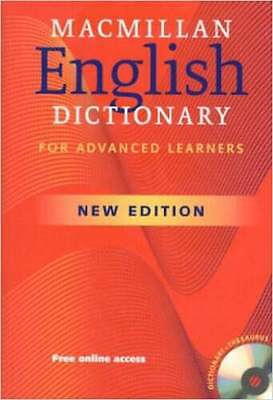 MacMillan English Dictionary for Advanced Learners (Book Only without CD-ROM)