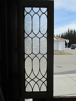 Antique American Stained Glass Window 14 X 40 Architectural Salvage