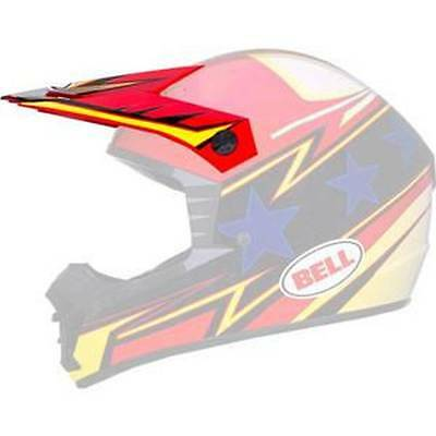 New Bell SX-1 Adult Helmet Top Visor, Apex, One Size