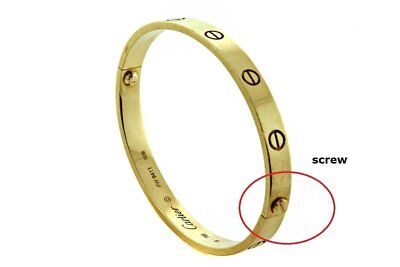 2pcs Stainless Steel Screw Compatible with Cartier Love Bracelet