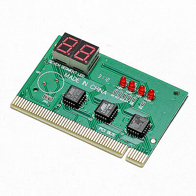 High Quality 2-Digit Motherboard Diagnostic Post Card PCI Analyzer Tester for PC