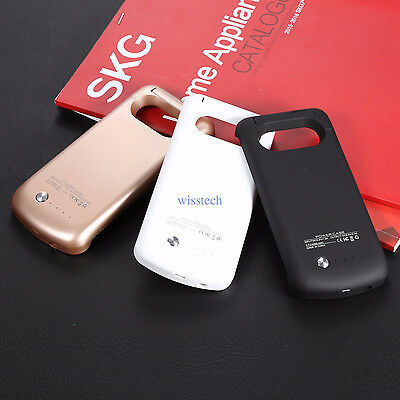 External Backup Battery Charger Case For Samsung Galaxy S6 S7 edge NOTE 5 IJ