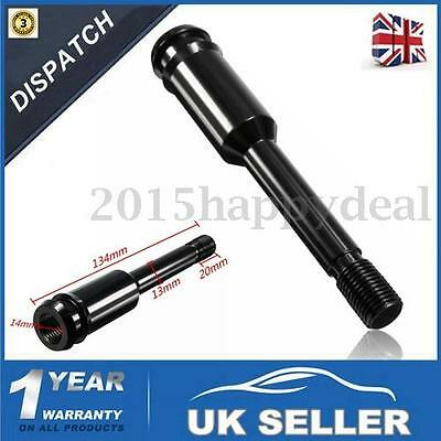Black Straight Gear Stick Shifter Lever Knob Extension For VW Volkswagen T4 -UK