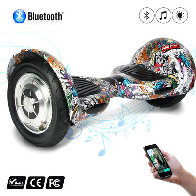"10"" Skateboard Gyropode scooter électrique Bluetooth Self Balance overboard sac"