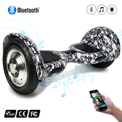 Skateboard Gyropode scooter électrique Bluetooth Self Balance overboard sac 10""