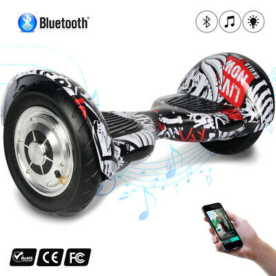 Gyropode scooter électrique Skateboard Bluetooth Self Balance overboard sac 10""