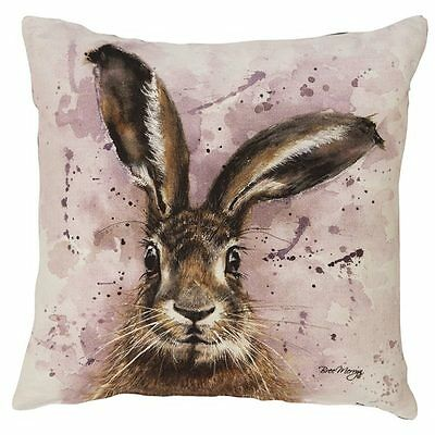 Luxury Cushion ~ Bree Merryn (Artist)  ~ Horatio The Hare ~ BNWT