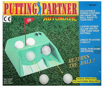 """Job Lot of 12 Golf Putting Machines Automatic mains operated """"NEW"""""""